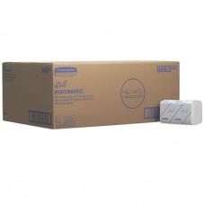 6663 Бумажные полотенца в пачках SCOTT PERFORMANCE, однослойные, белые