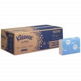 4632 Бумажные полотенца в пачках Kleenex Ultra Multifold белые двухслойные