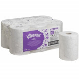 6781 Бумажные полотенца в рулонах Kleenex Ultra Slimroll белые двухслойные