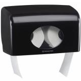 7191 Диспенсер для туалетной бумаги в малых рулонах Aquarius чёрный