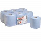 7277 Протирочный материал в рулонах с центральной подачей WypAll L20 Essential однослойный голубой