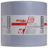 7359 Протирочный материал в рулонах WypAll L30 Ultra трёхслойный синий