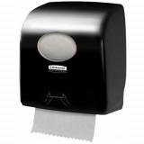 7956 Диспенсер для рулонных полотенец Aquarius Slimroll чёрный